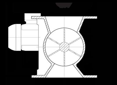 Dust Collector Rotary Airlock Circluar Diagram