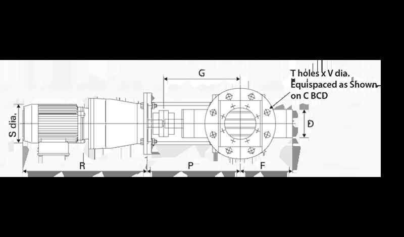 Sanitary Rotary Airlock Diagram