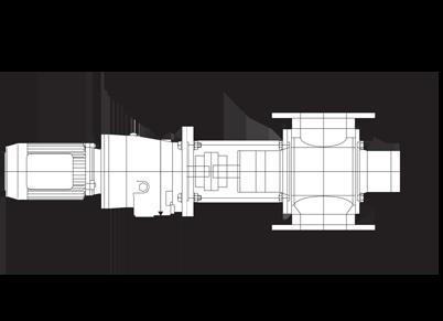Sanitary Rotary Airlock Dimensions