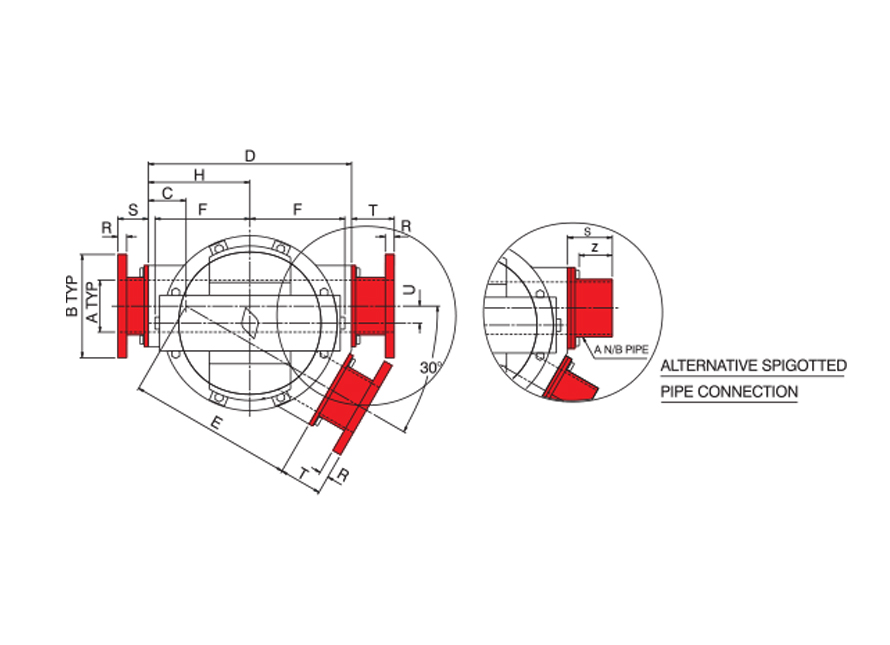 Plug Diverter Dimensions
