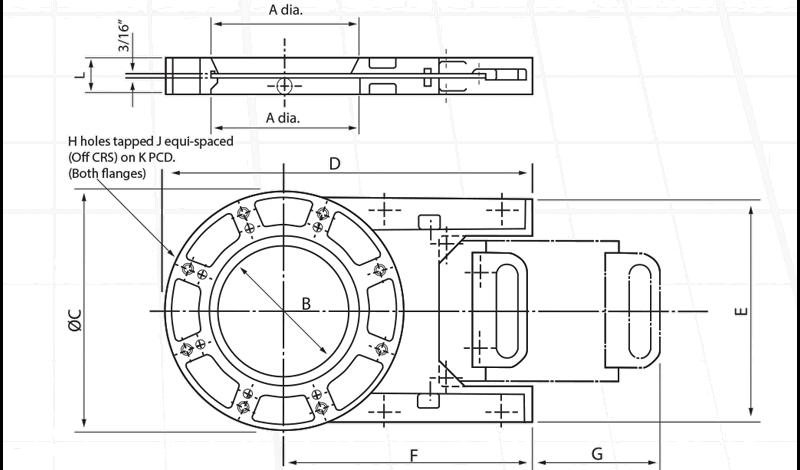 Cast Slimslide Manual Circular