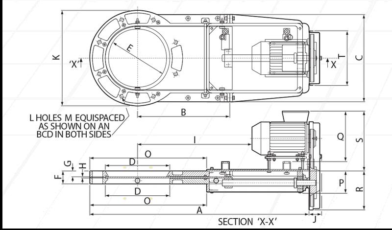 Cast Slimslide Motorised Circular