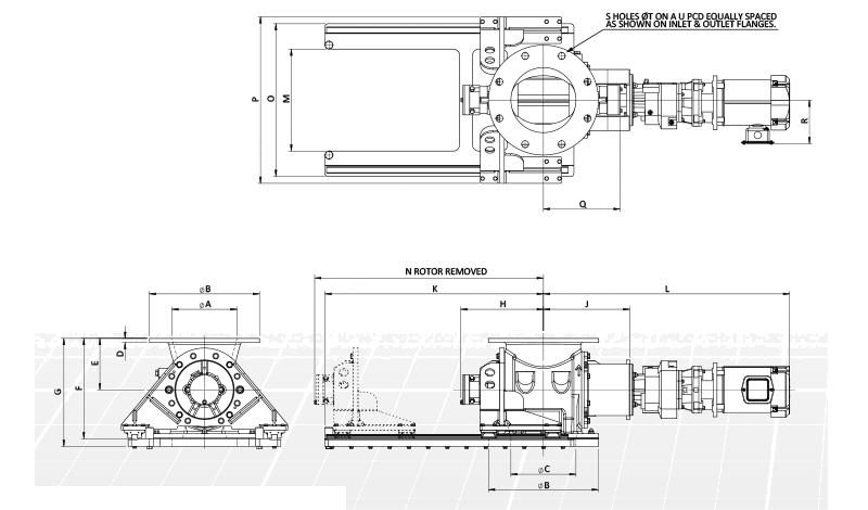 USDA Rotary Airlock Diagram