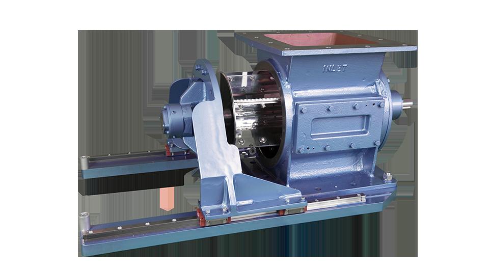 half open easy release rotary valve
